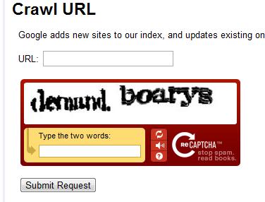 Google Crawl alternative - Submit your site
